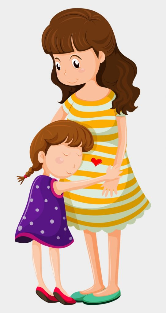 4 mother and daughter sad clipart cliparts cartoons