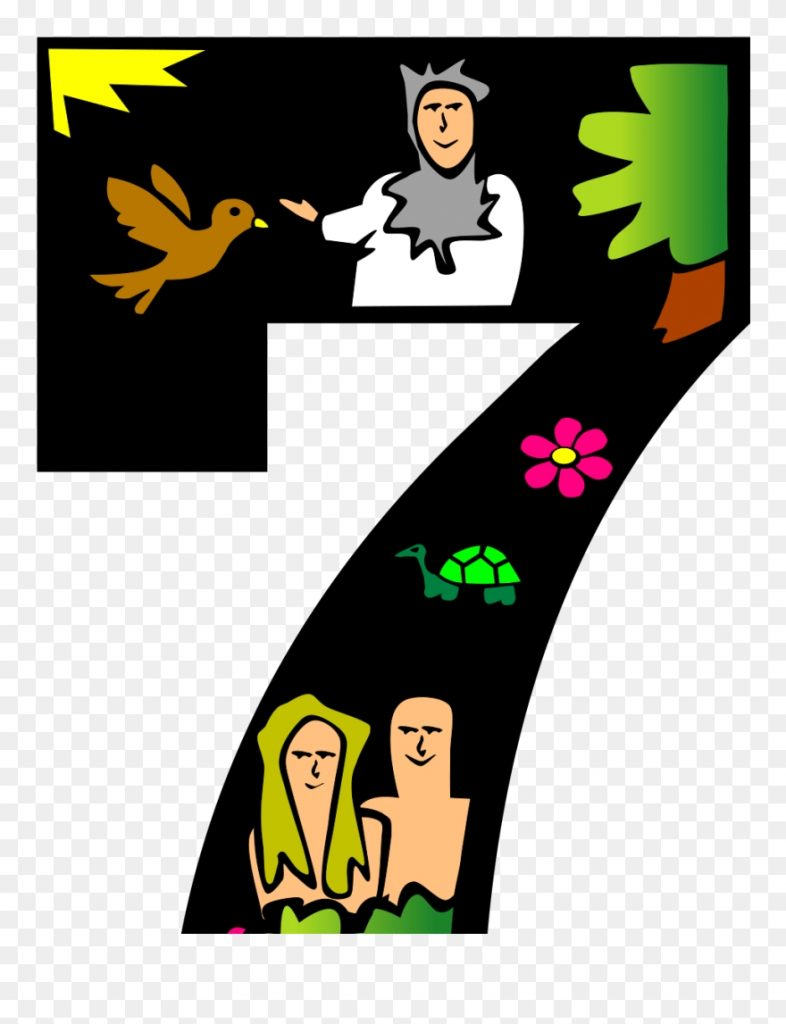 7 days of creation clipart 5700111 pinclipart