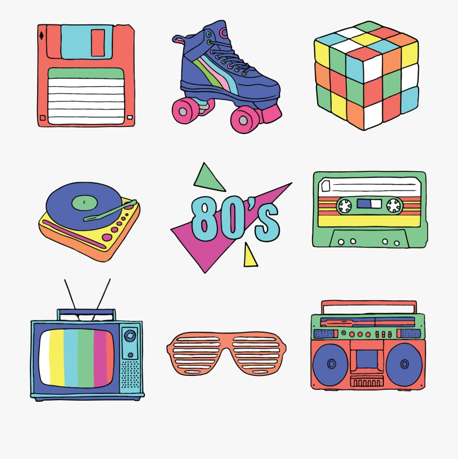 80s clipart casette tape png 80s transparent cartoon