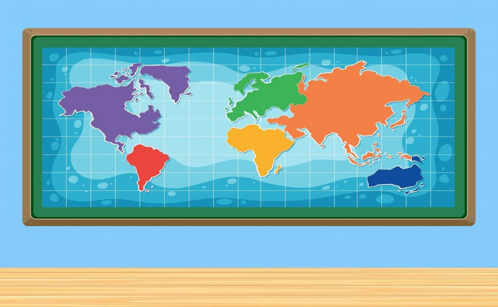 a world map in frame download free vectors clipart