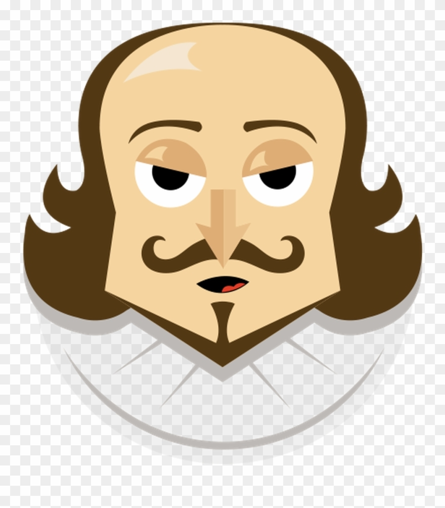 actor clipart shakespeare shakespeare emoji png download