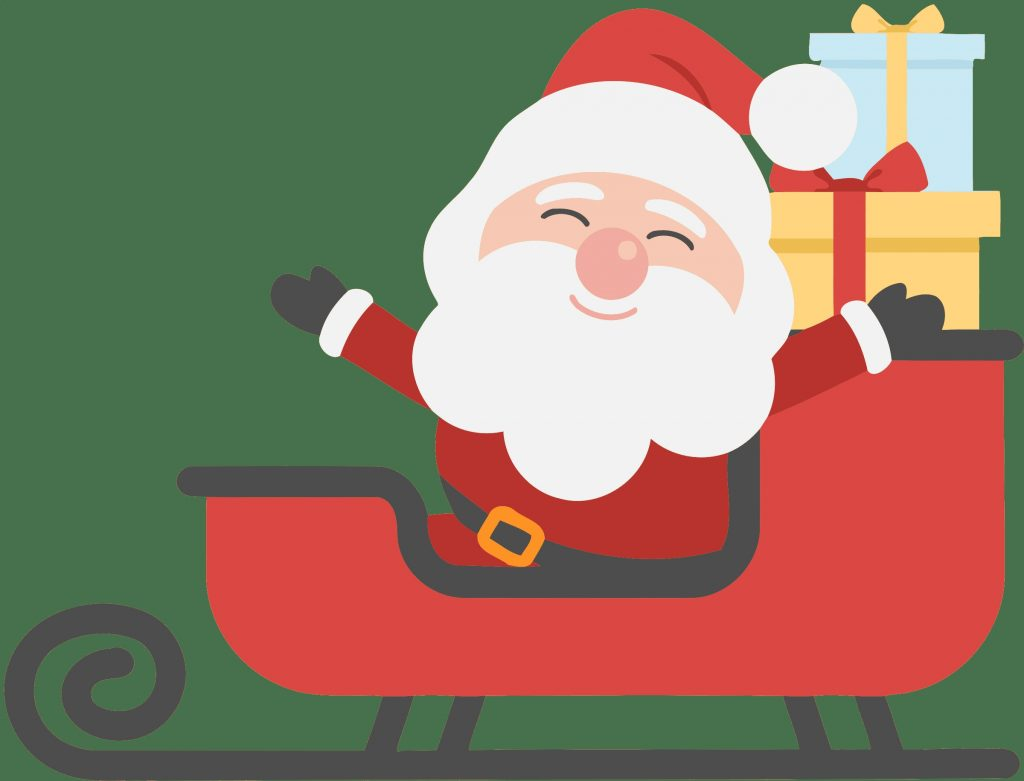 all photo png clipart santa claus in sleigh clipart