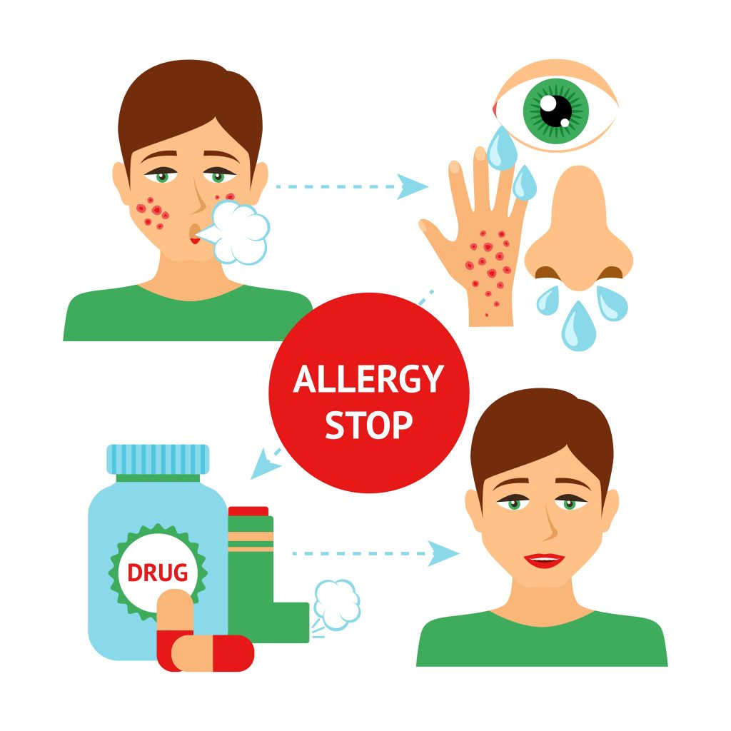 allergy prevention concept download free vectors clipart