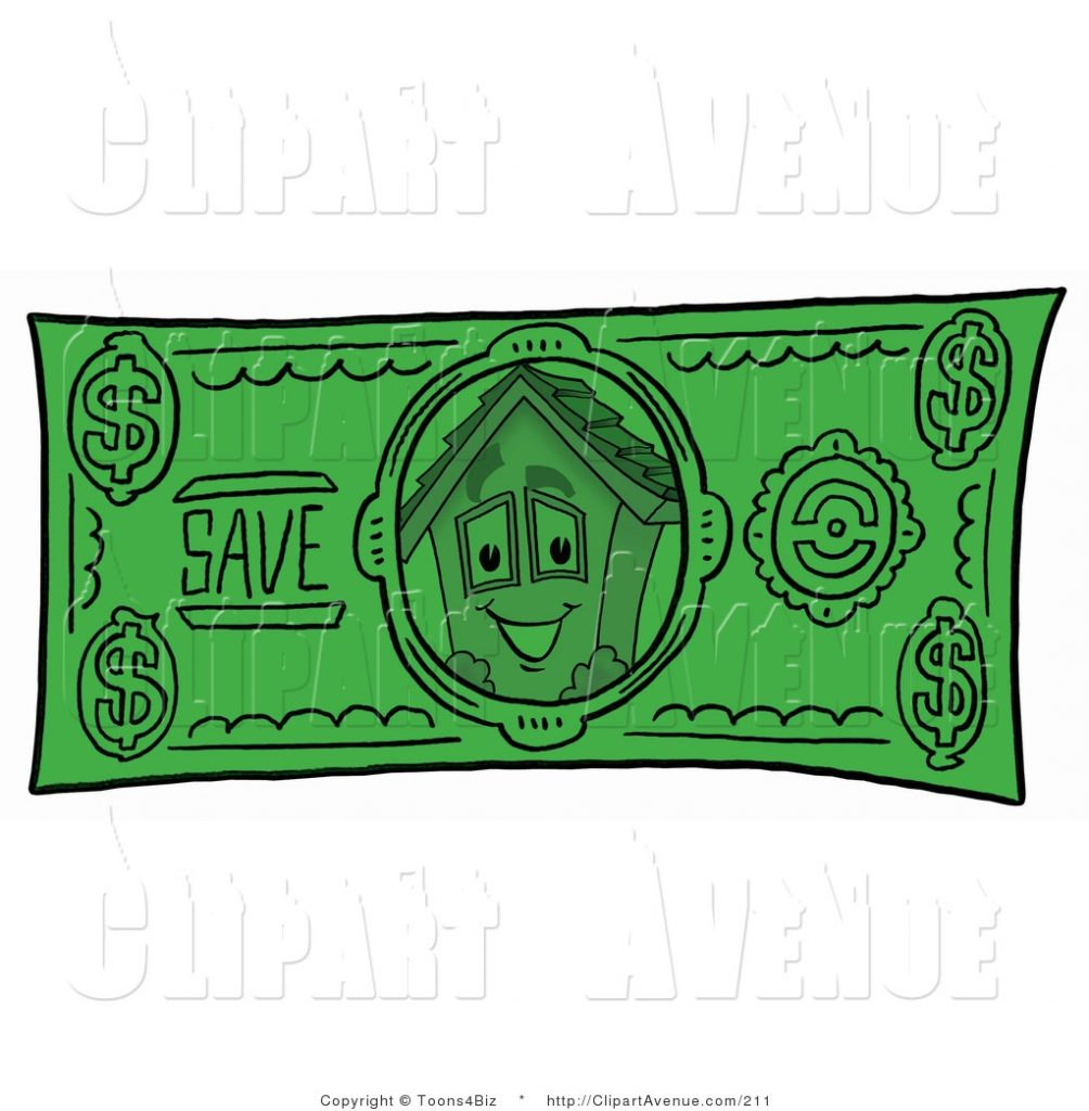 avenue clipart of a house mascot cartoon character on a