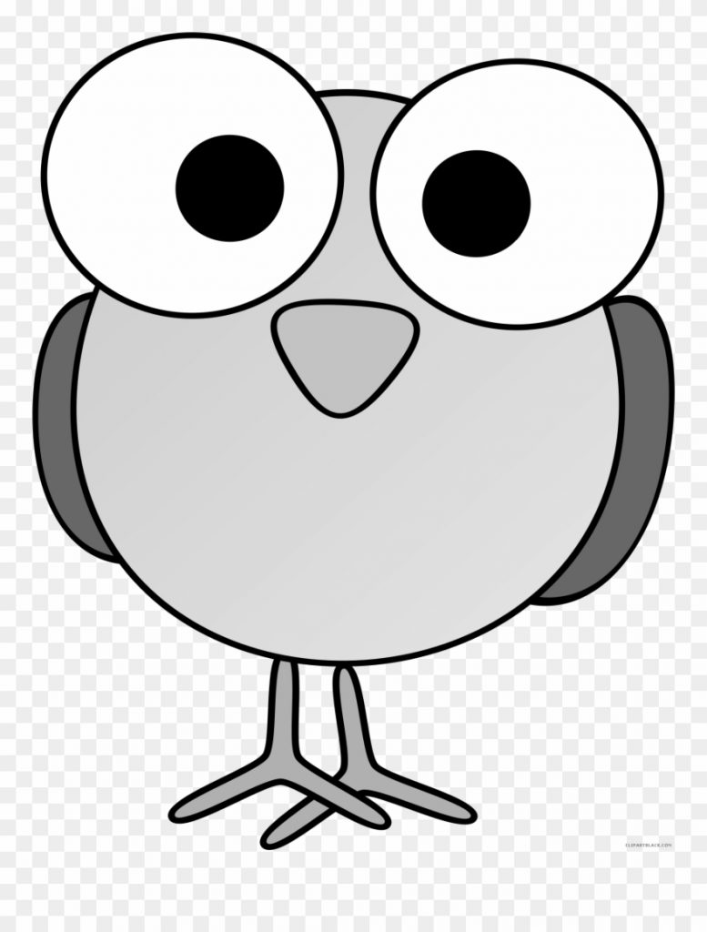 awesome bird animal free black white clipart images