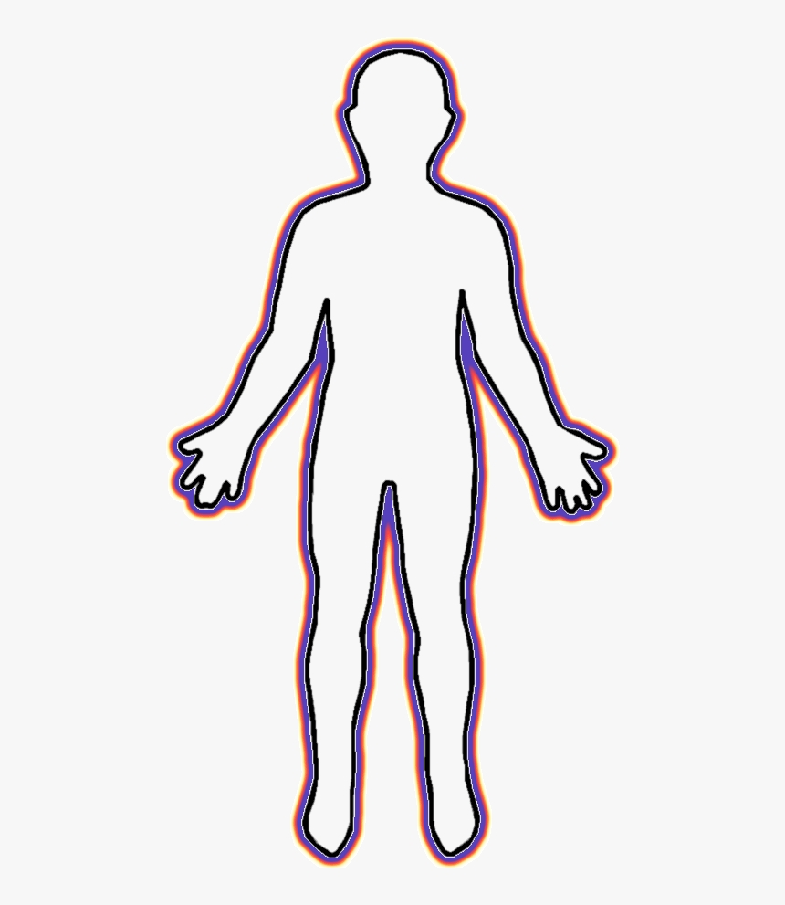 back body clipart png human body cartoon outline
