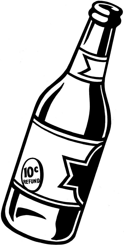 beer bottle clipart clipart kid bottle drawing beer