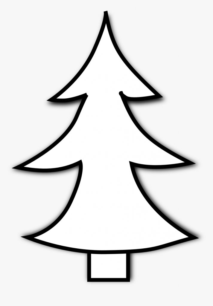best christmas tree clipart black and white christmas free