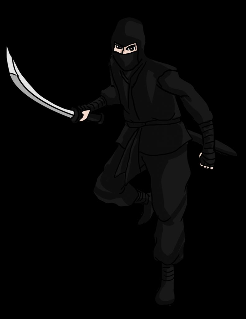 best ninja clipart 9244 clipartion clip art free