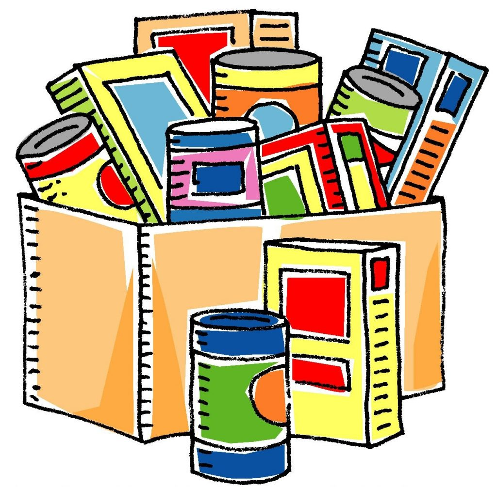 bfood pantryb clipart clipartsco food drive canned
