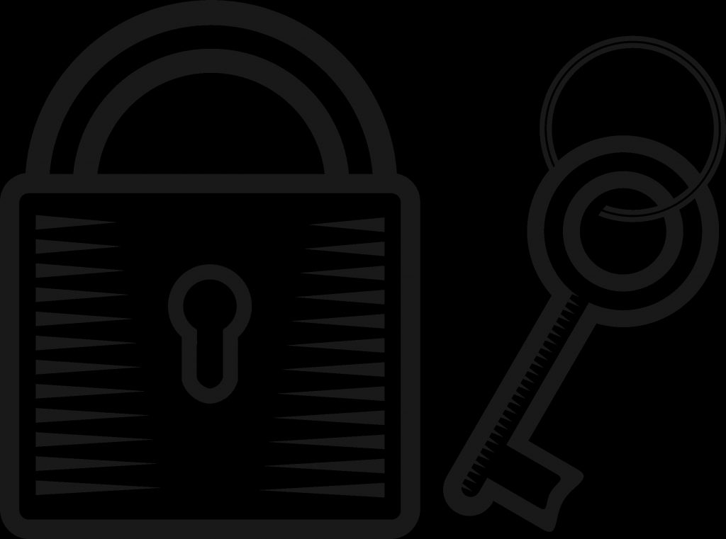big image key and lock drawing clipart full size clipart