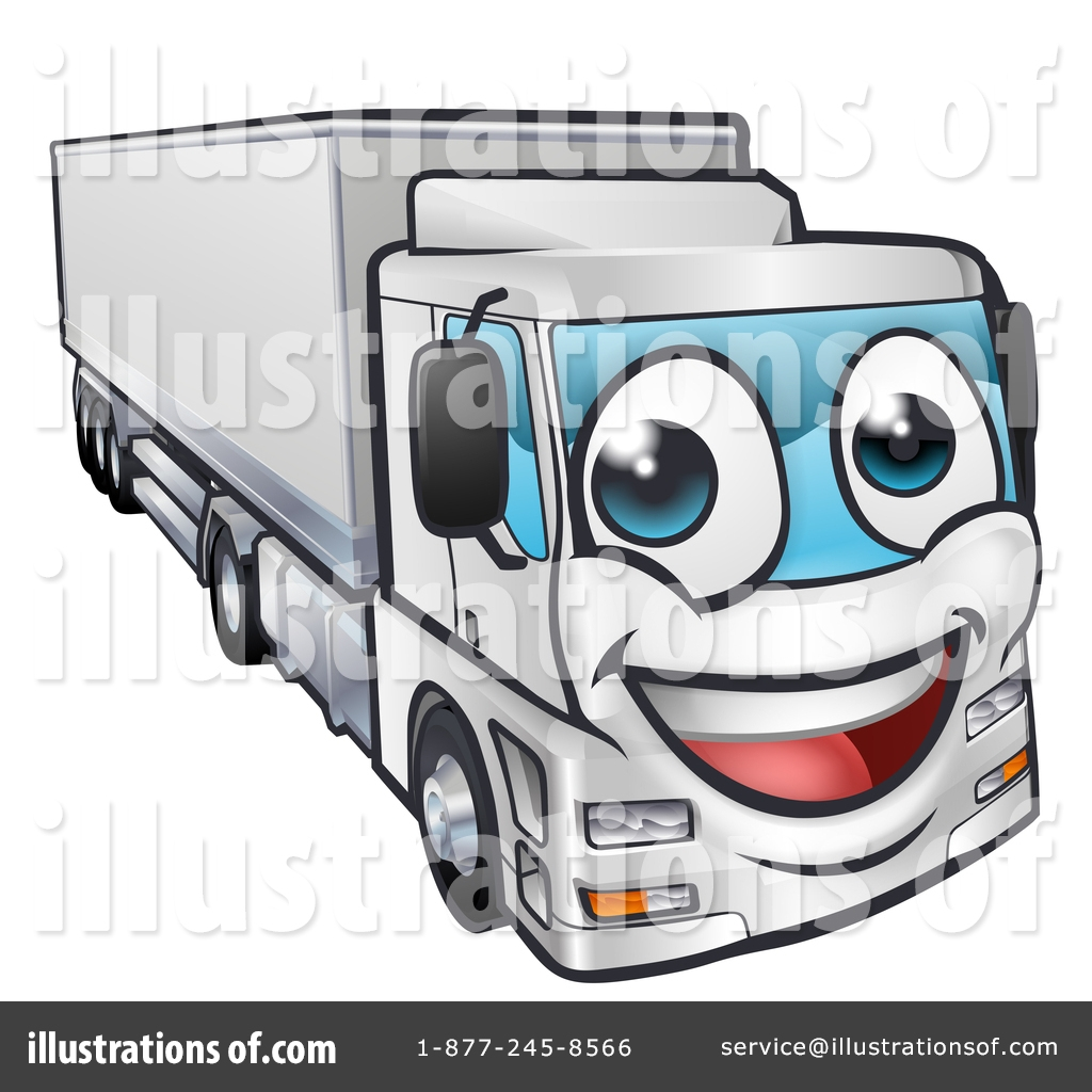 big rig clipart 1432453 illustration atstockillustration