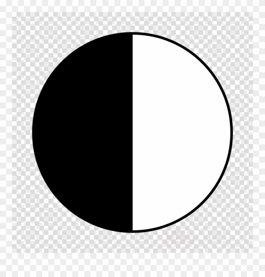 black and white half circle clipart semicircle computer