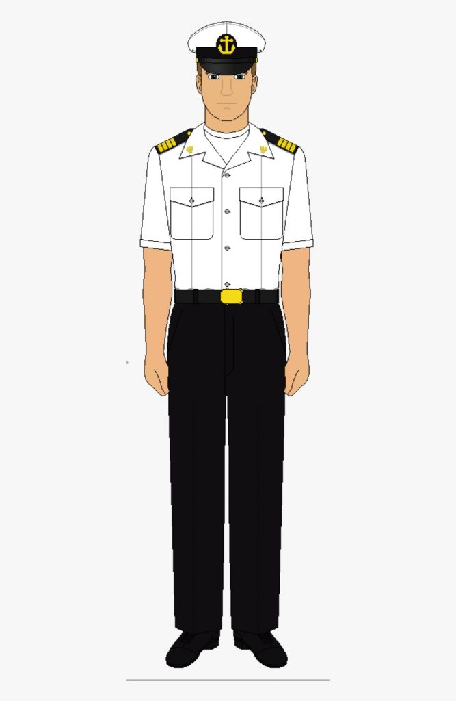 black and white navy uniform free transparent clipart