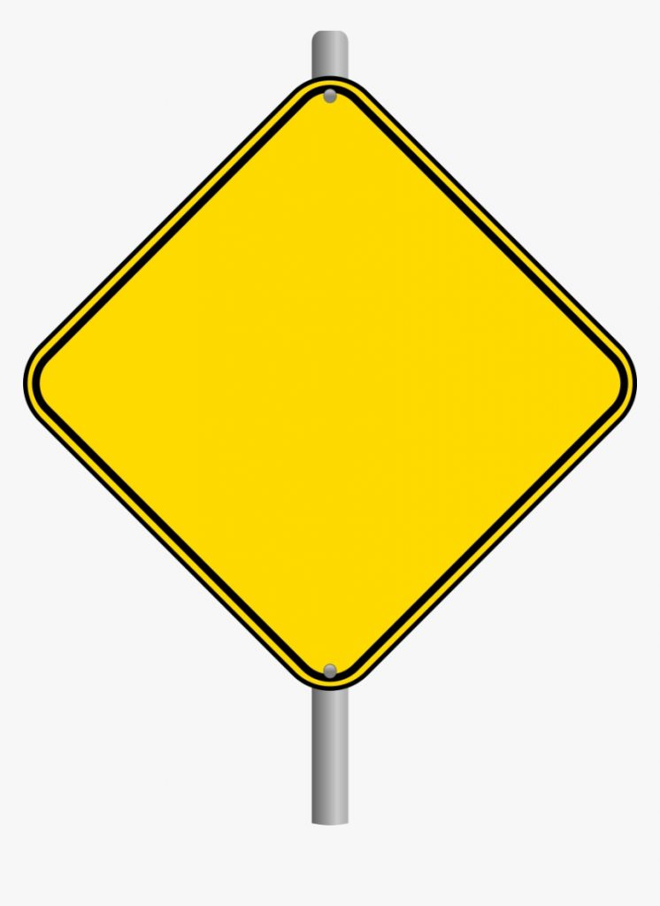 blank road sign png warning blank road signs transparent