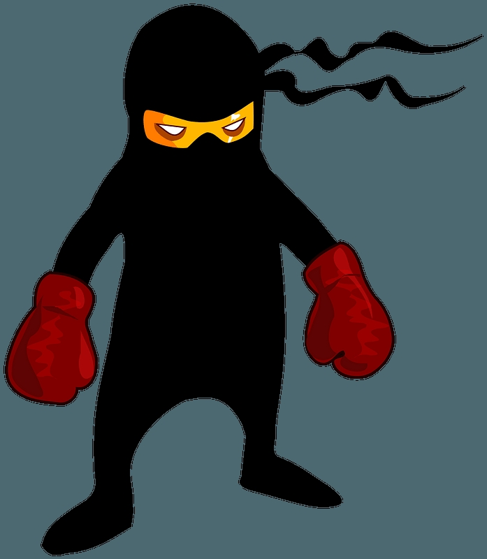 boxer ninja clipart free download transparent creazilla