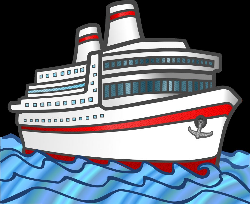 brilliant clip art cruise ship clipart of ship png
