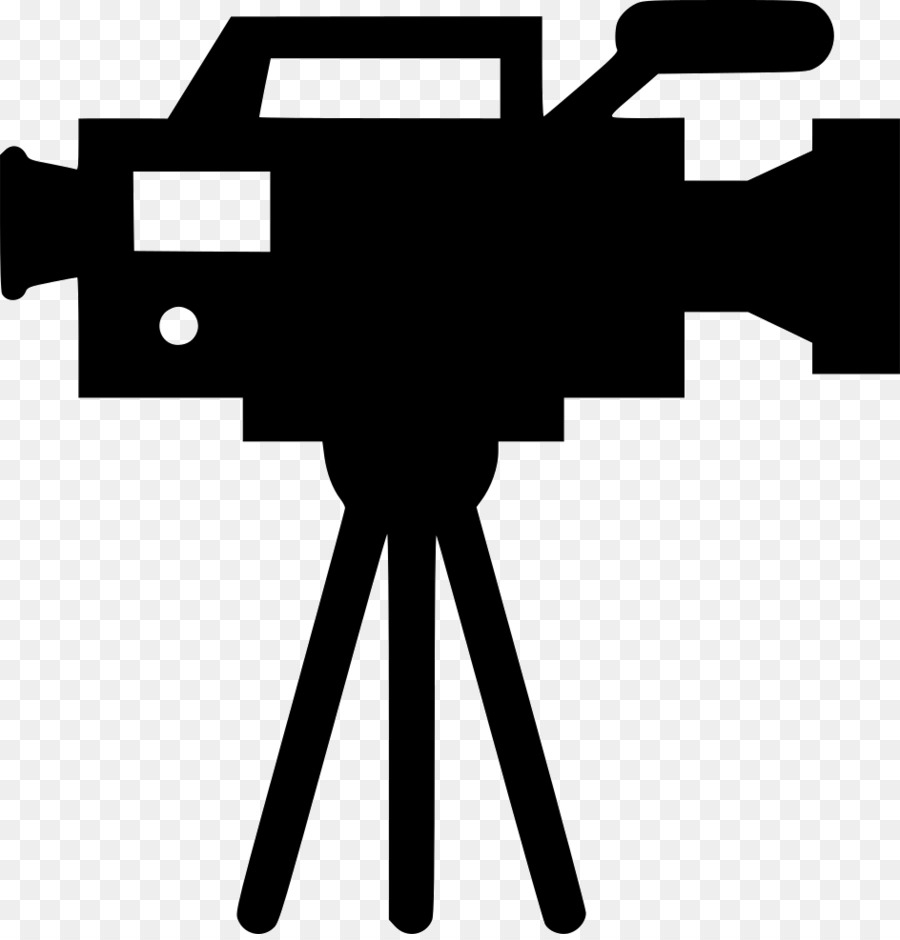 camera silhouette clipart video camera black