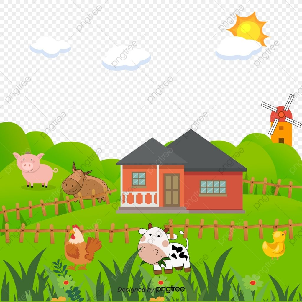 cartoon farm cartoon clipart farm clipart hand painted