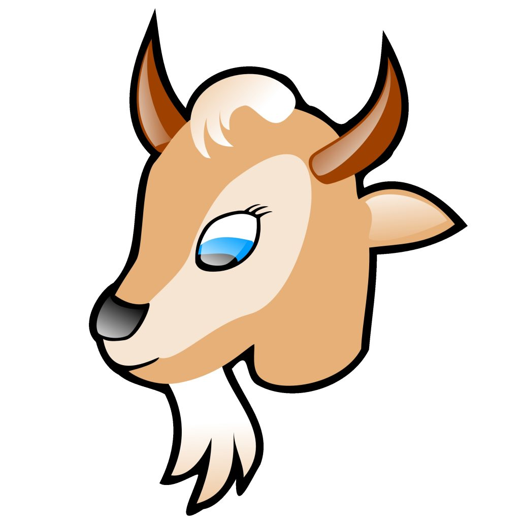 cartoon goat head clipart clip art bay