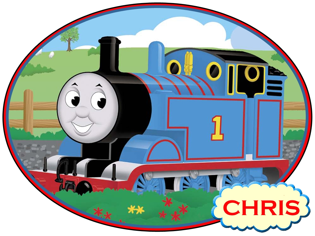 cartoon thomas train clipart free image