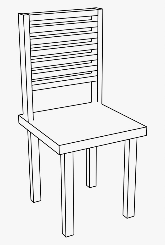 chair clipart basic chair png black and white free