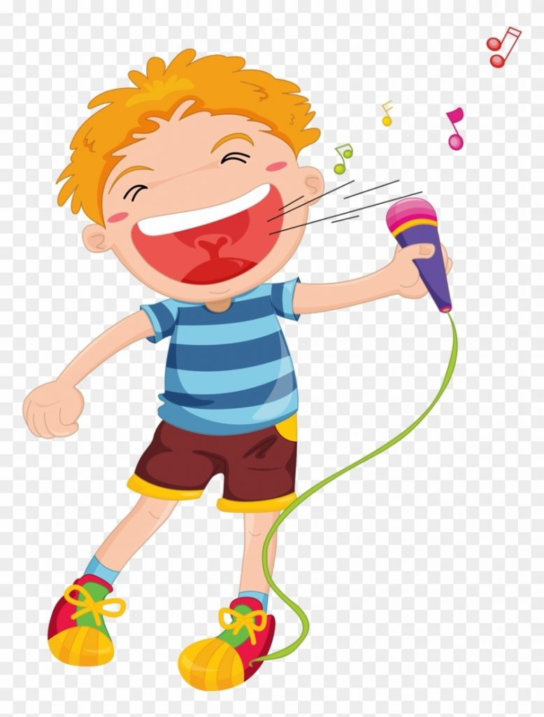 children singing free transparent png