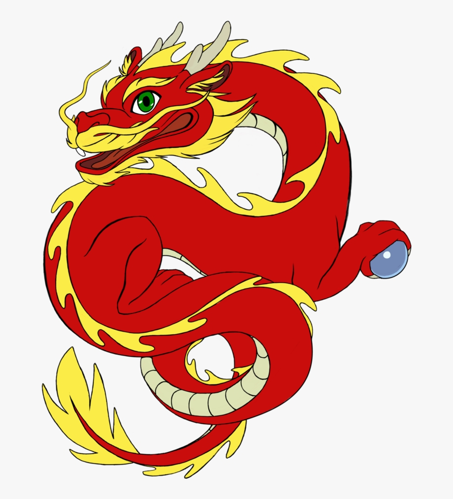 chinese dragon clipart cute chinese dragon png