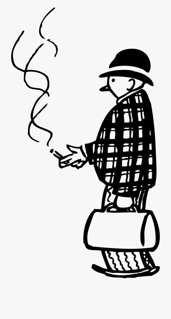 cigar svg black and white person smoking clipart black and