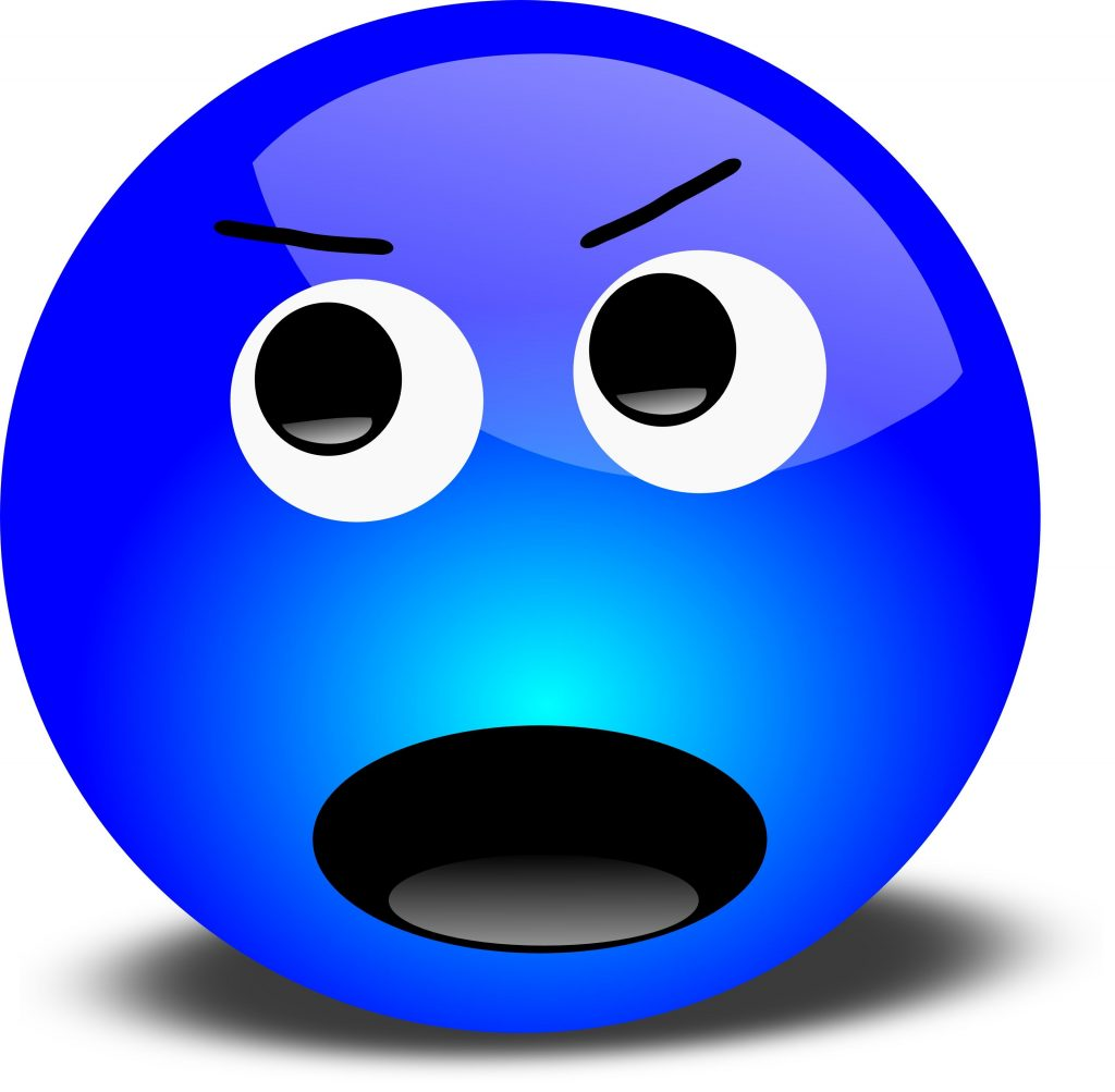 clip art faces emotions frustrated angry 3d smiley