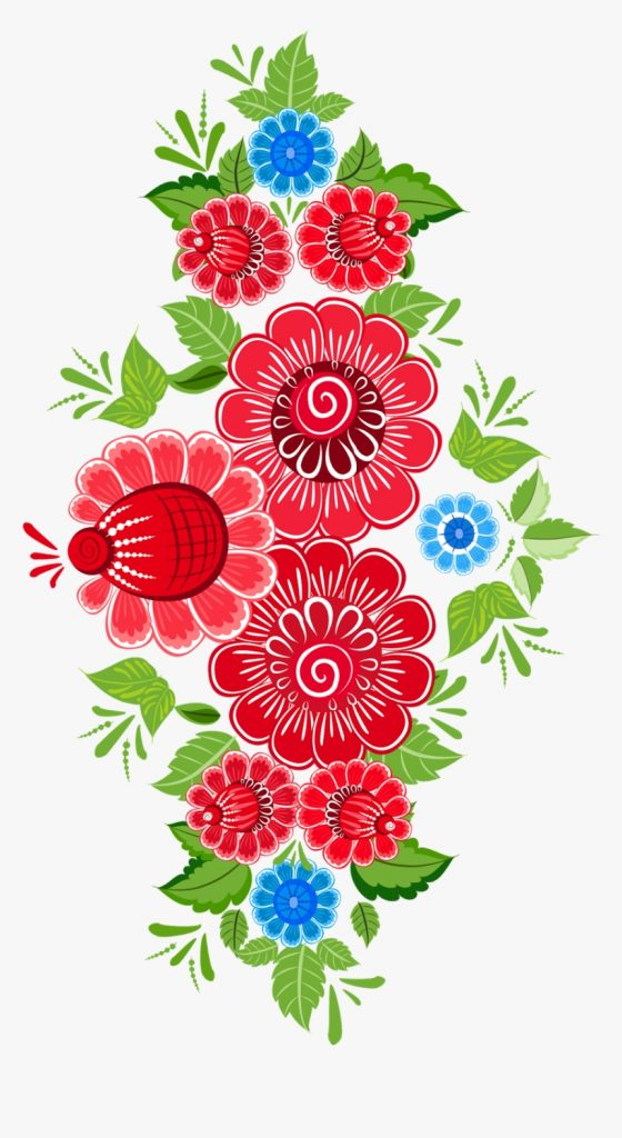 clip art mexican flower pattern mexican flower clipart png