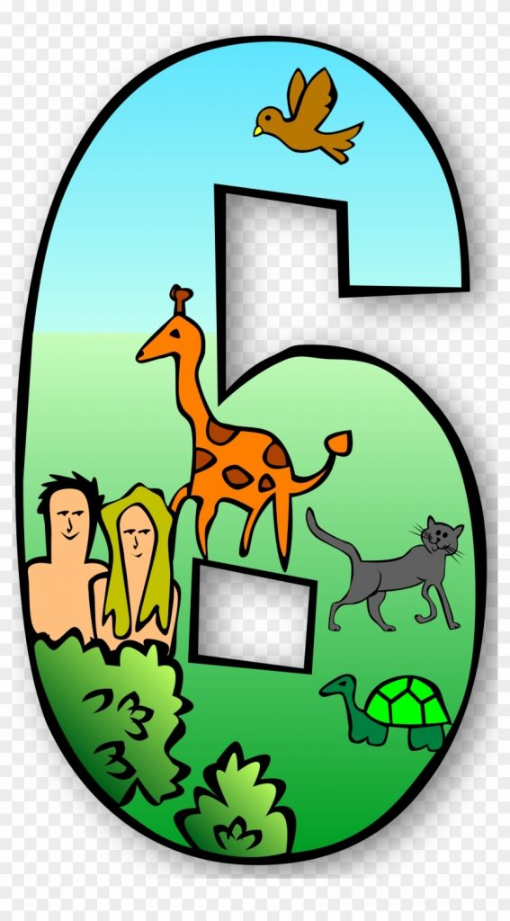 clip art numbers 1 clipart clipart kid 7 days of creation