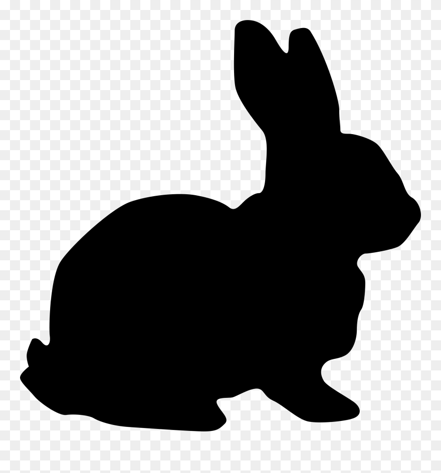 clip black and white stock coyote clipart shadow rabbit