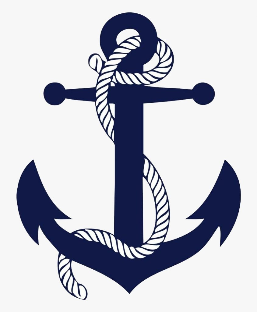 clipart anchor ancla navy anchor with rope hd png