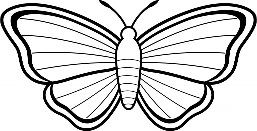 clipart butterfly outline clipart panda free clipart