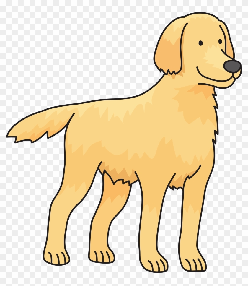 clipart clip art golden retriever hd png download