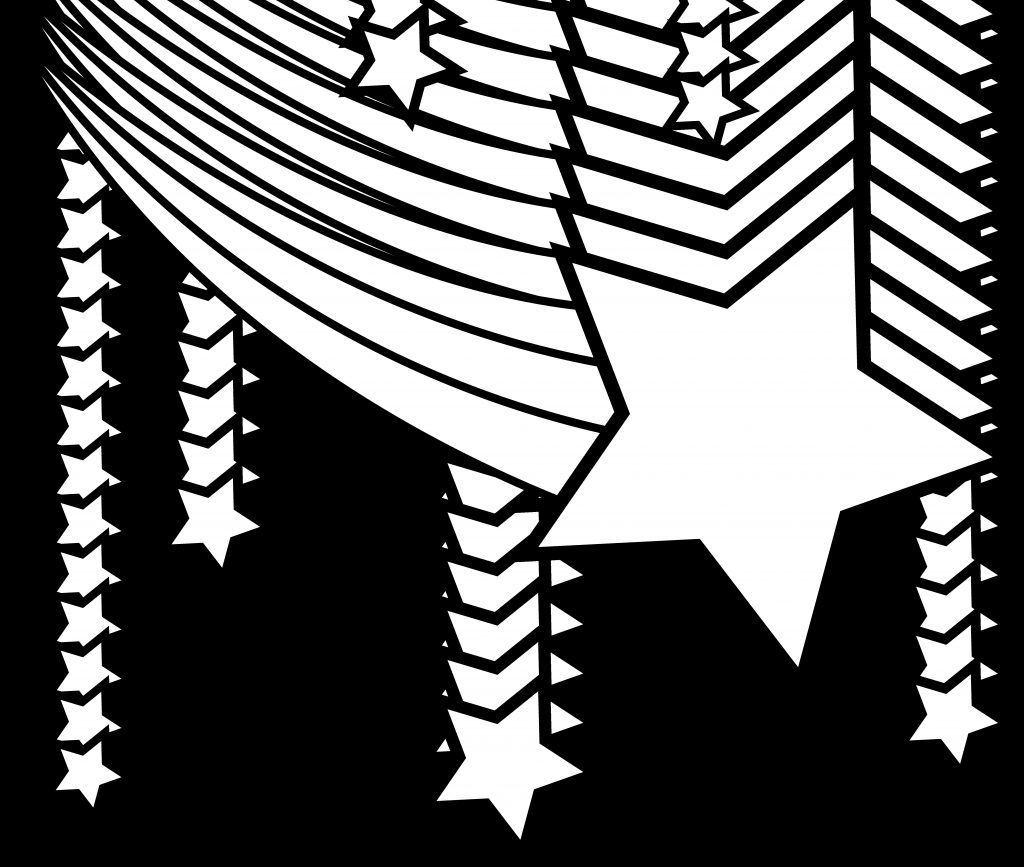 clipart of stars star and addition shooting star star