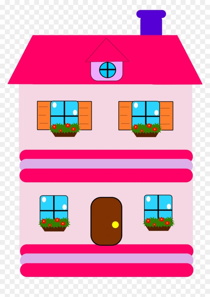 clipart open house clip freeuse clipart doll house clipart