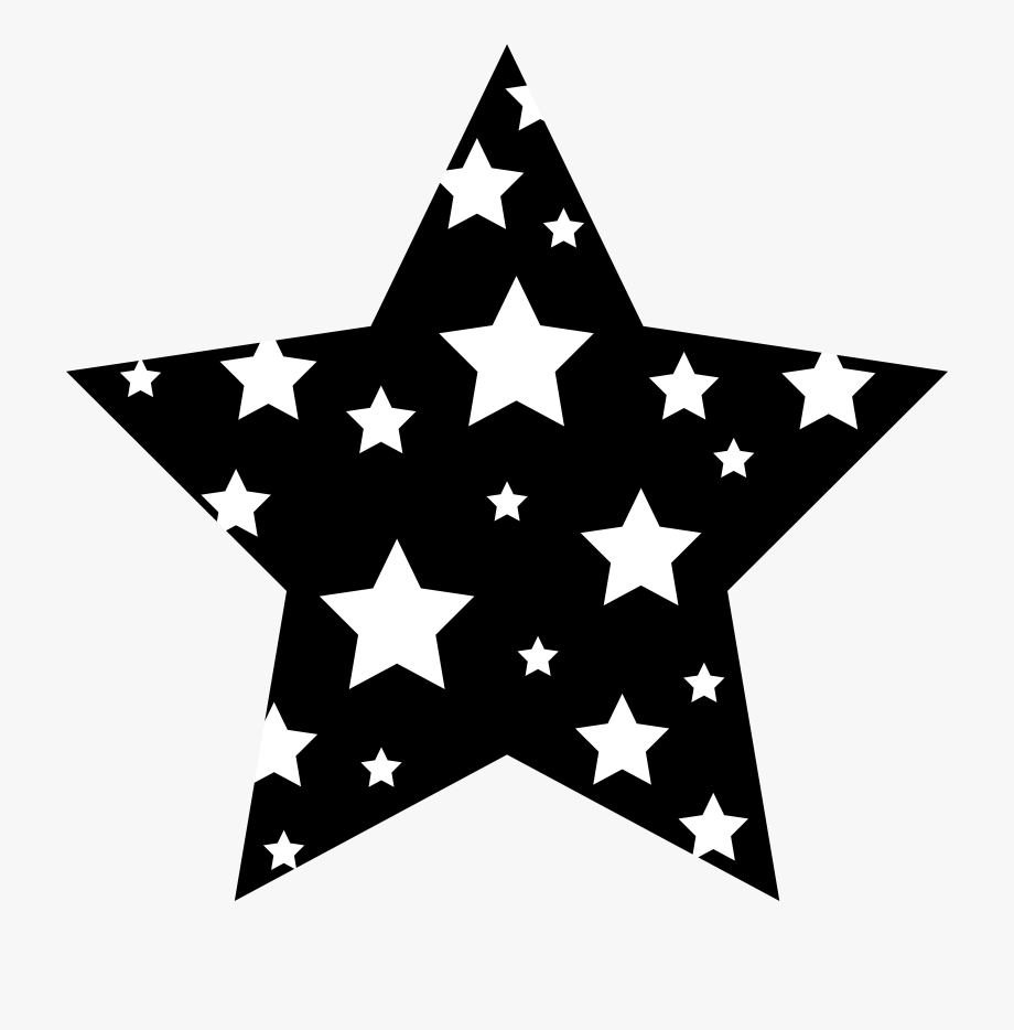 clipart stars black and white clipart star transparent