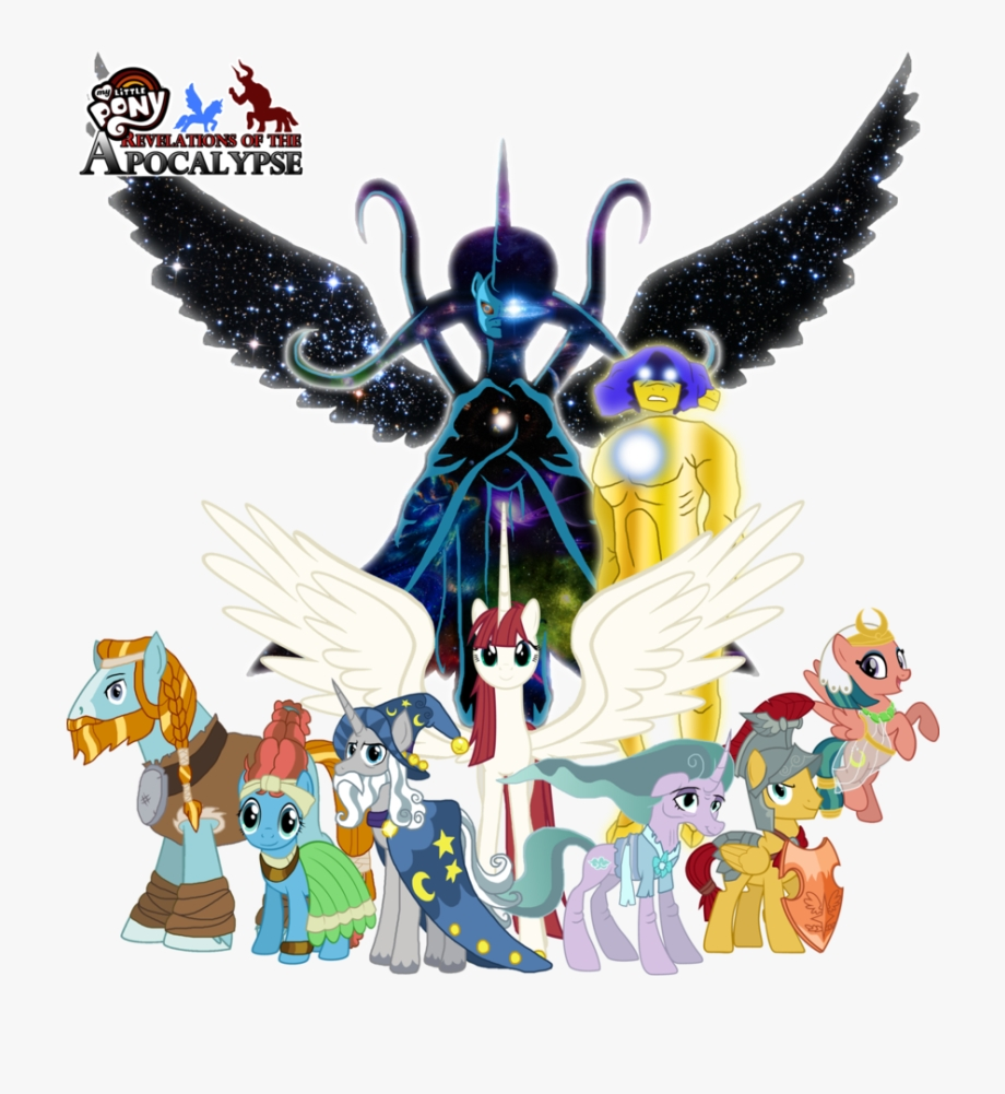 clipart the of creation my little pony the pillars