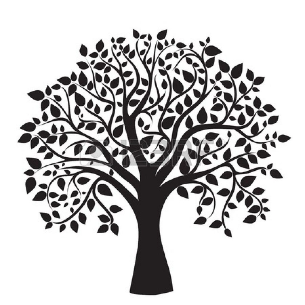 clipart trees black and white free clipartdeck clip arts