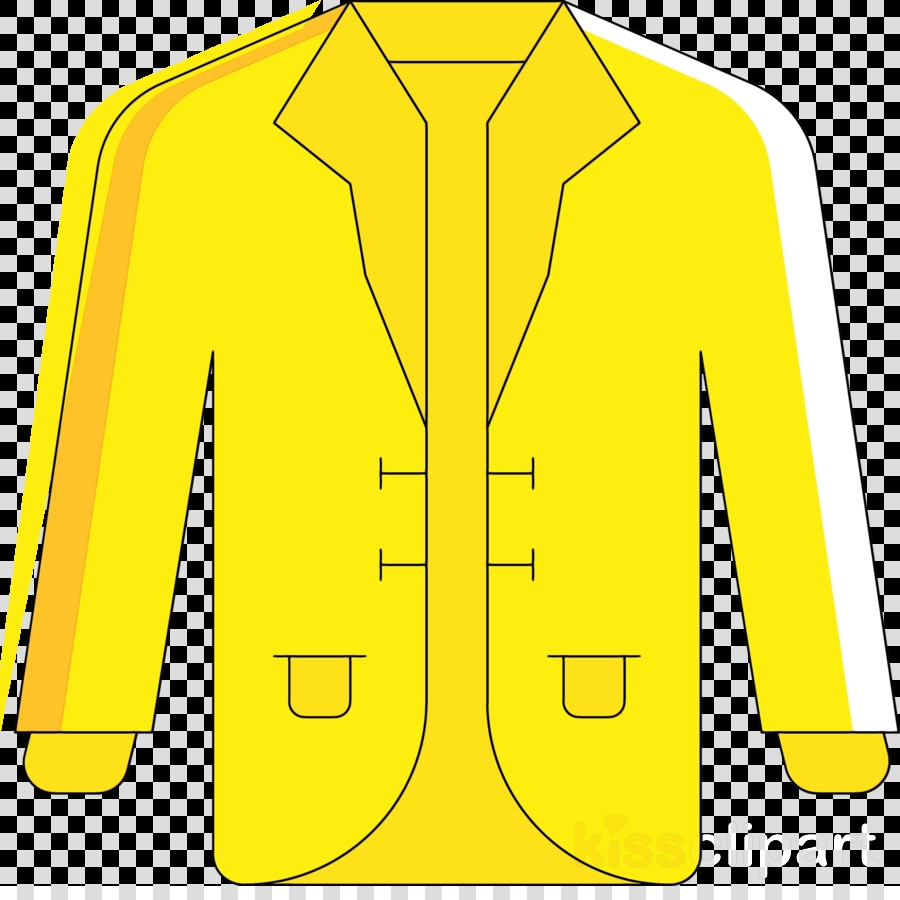 clothing outerwear yellow jacket sleeve clipart clothing