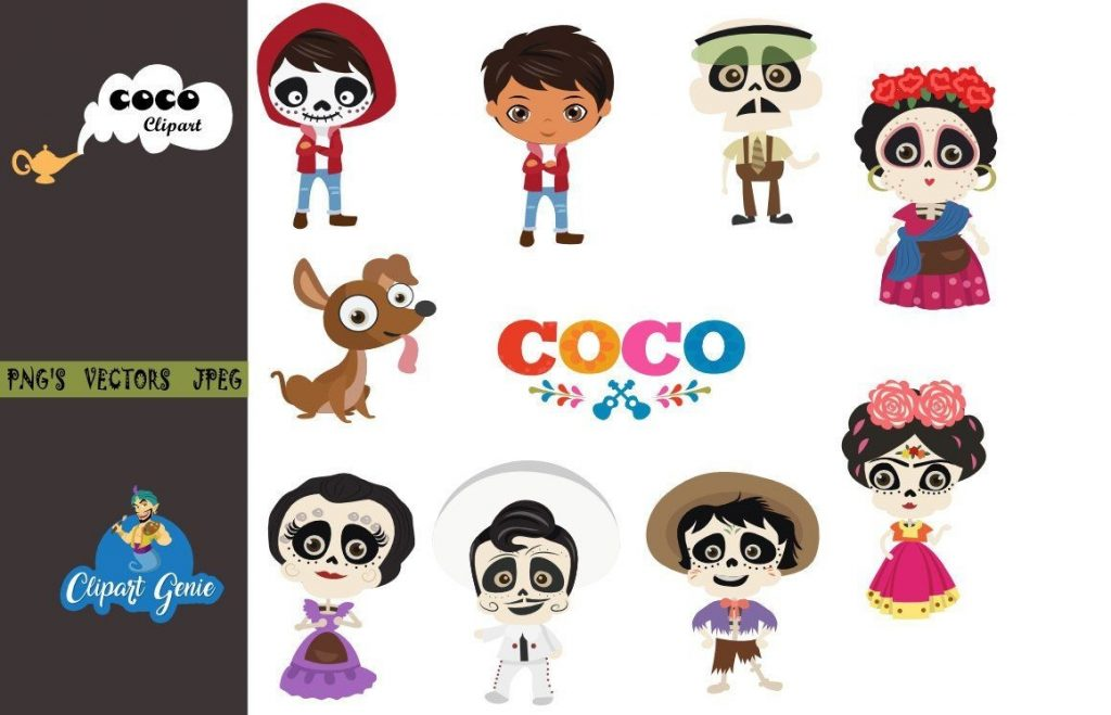 coco clipart coco coco party coco birthday miguel