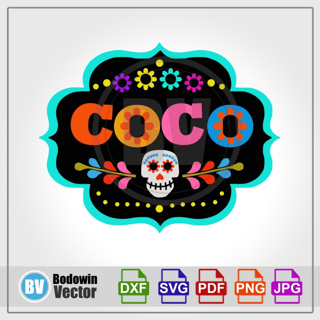 coco svg instant download digital clipart
