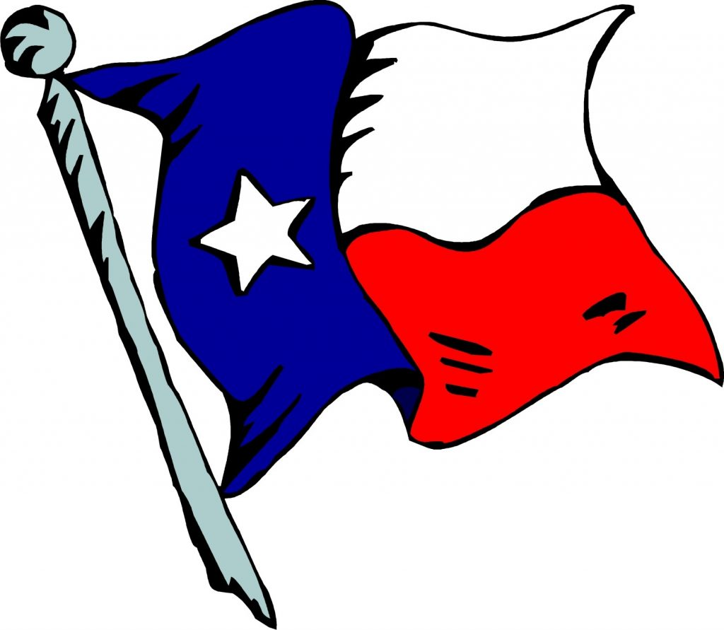 colorful texas flag clipart free image