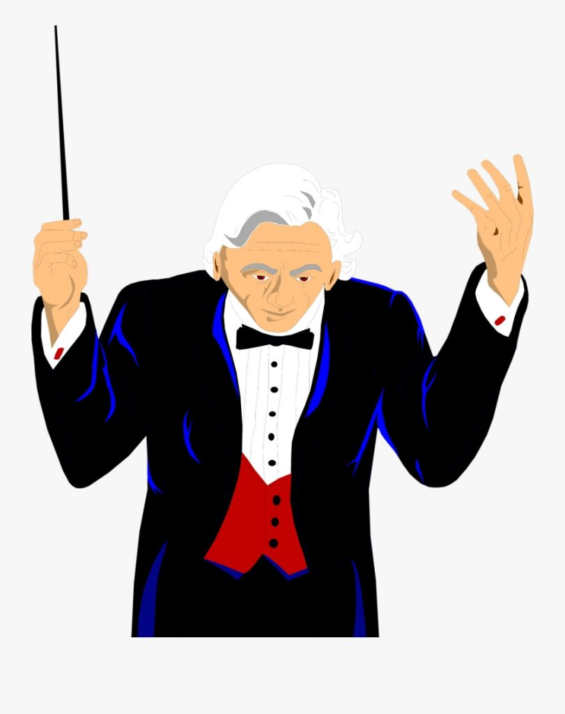 conductor orchestra conductor transparent free