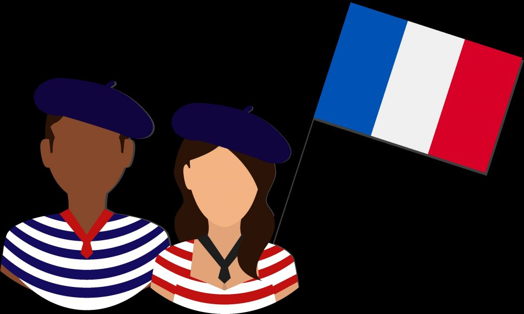 contribute in representing the french culture and language