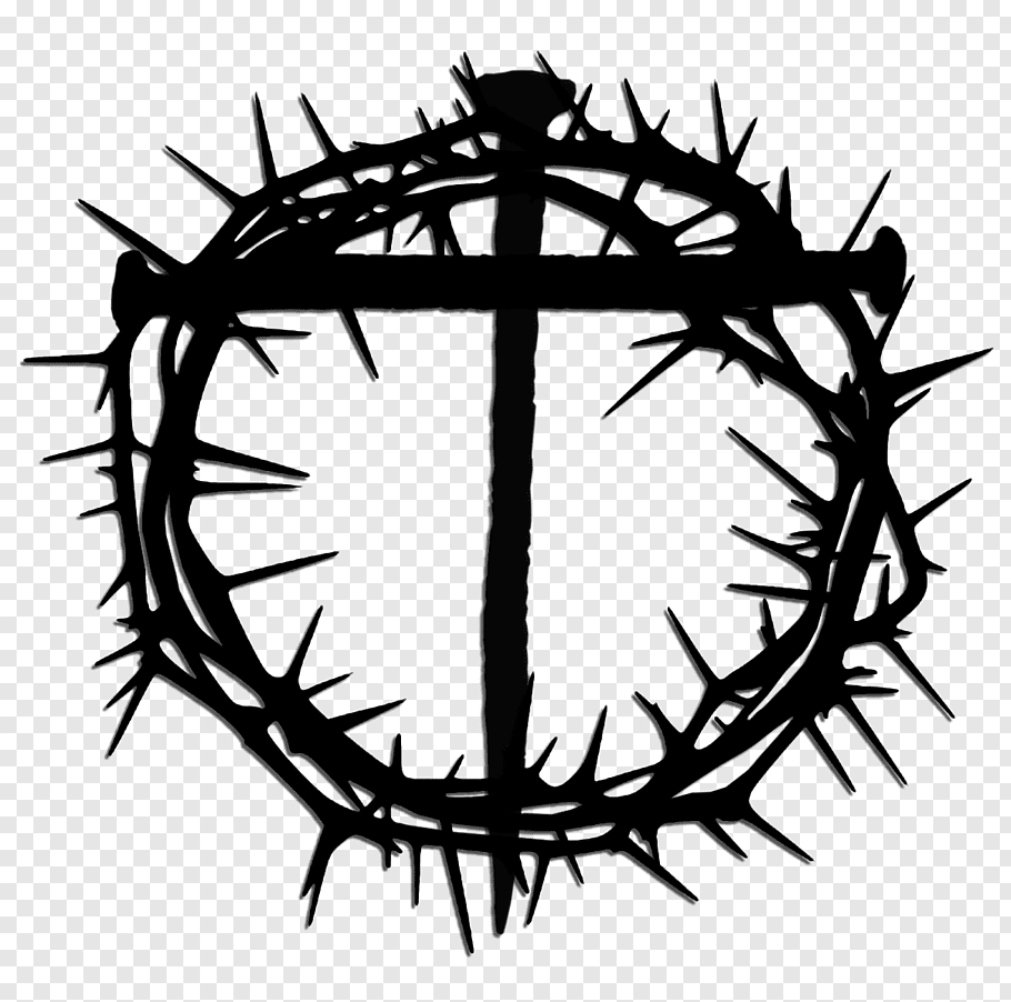 crown drawing crown of thorns crucifixion of jesus