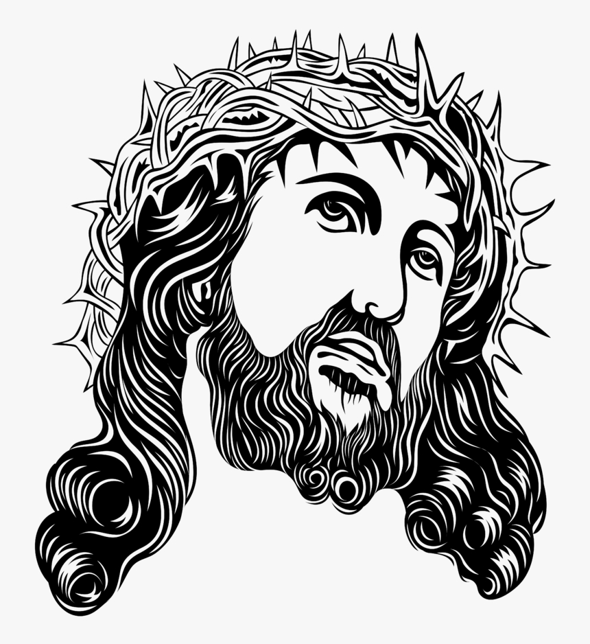crown of thorns holy face of jesus clip art jesus with