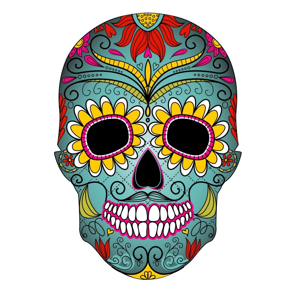 day of the dead clipart clipart kid skull art day of